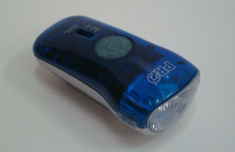 PRO světlo HL-02, transparent, modré