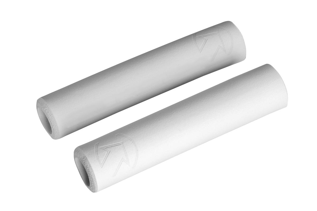 PRO gripy Slide on race, 30x130mm, bílé