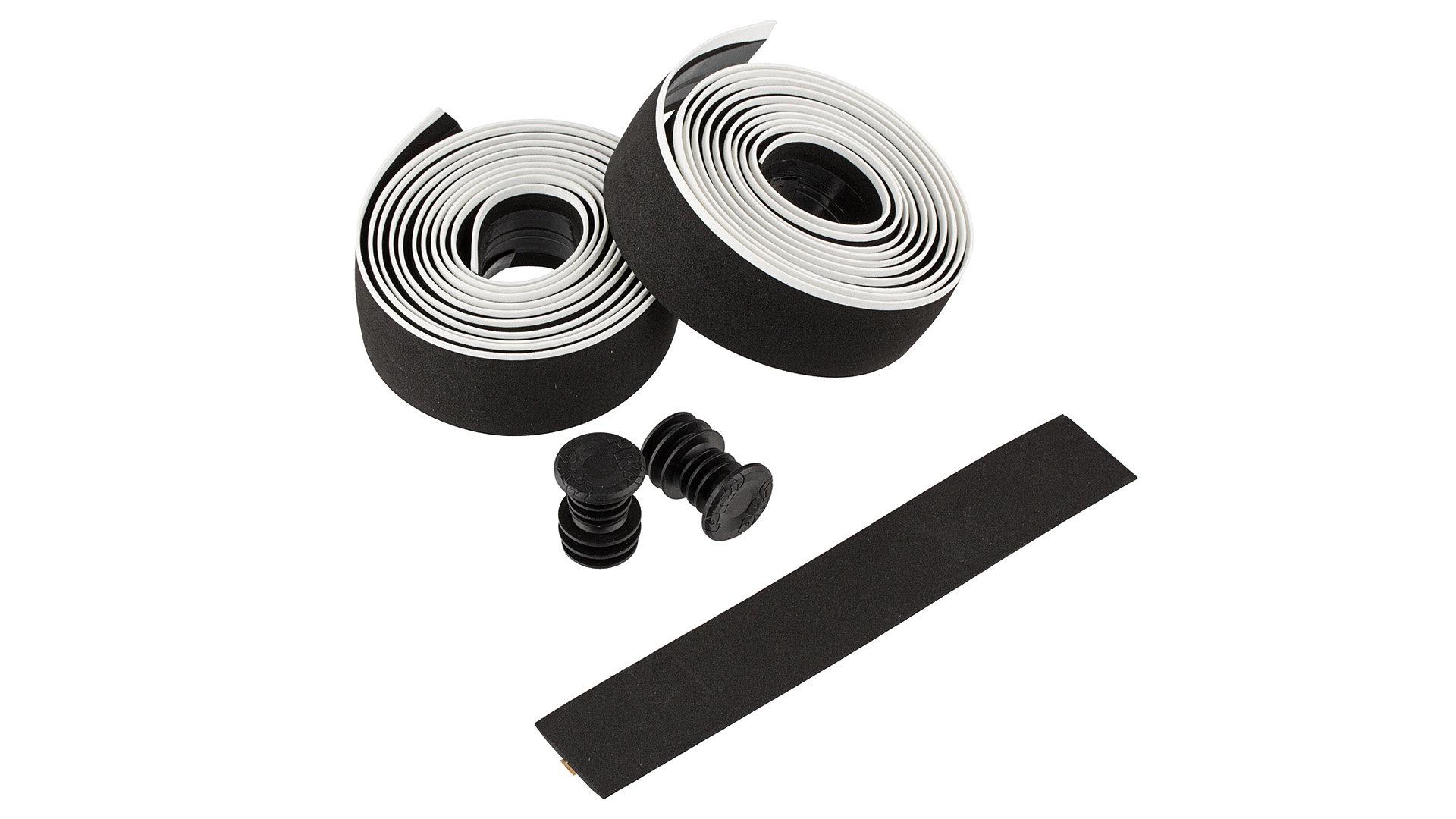PRO silikonová omotávka Sport control, černá/bílá