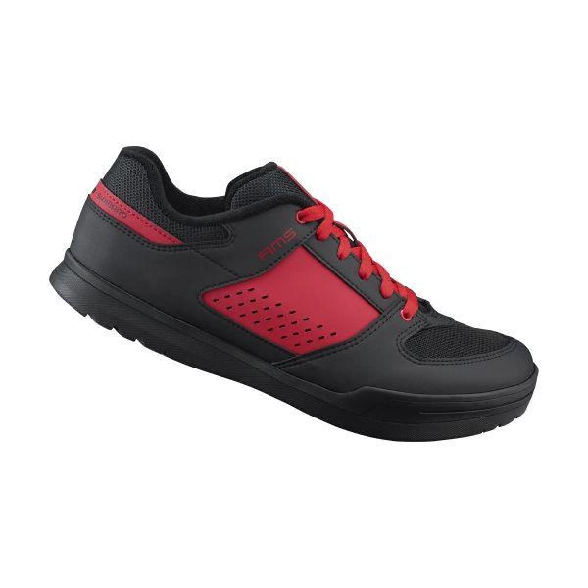 SHIMANO gravity obuv SH-AM501MR43, červená, 43