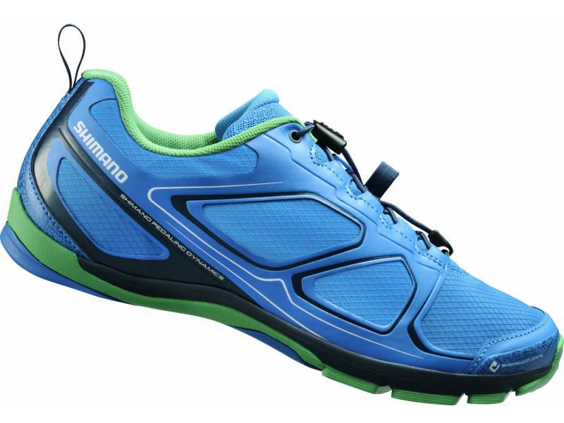 Shimano click'r obuv SH-CT71B, modré, 42