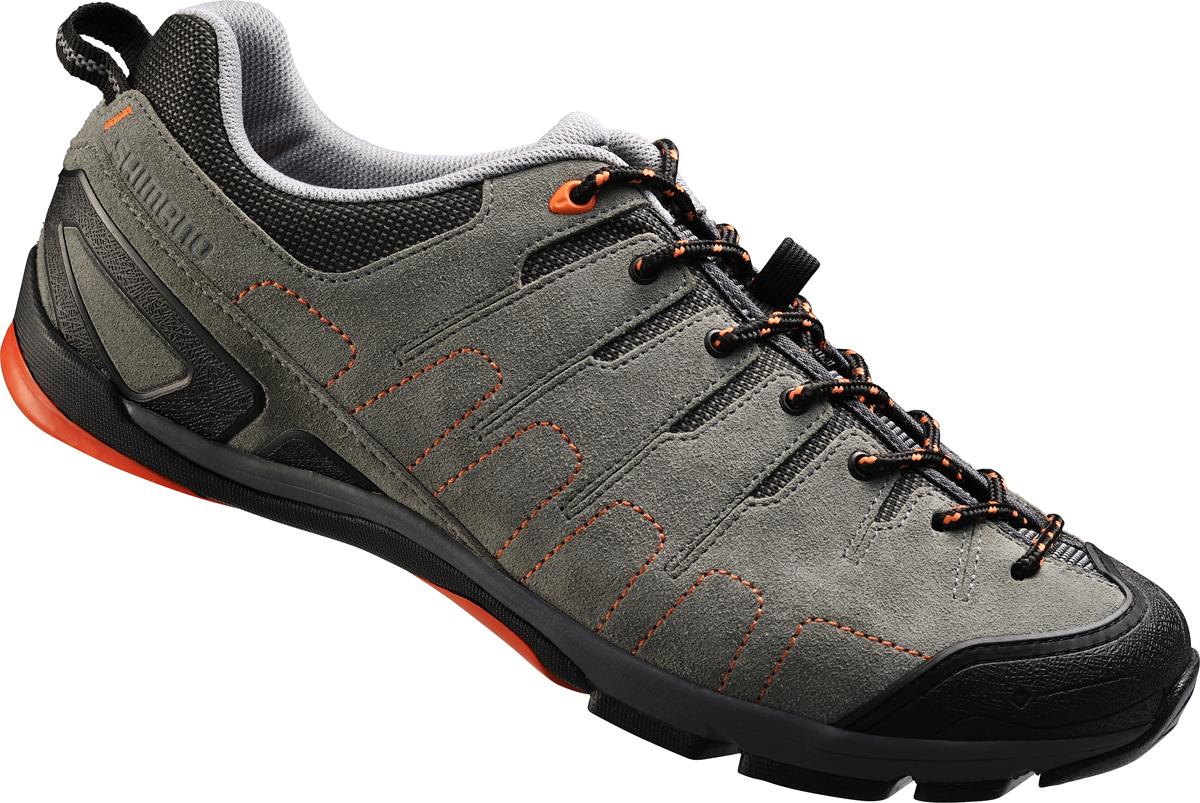 Shimano click'r obuv SH-CT80GO, šedá/oranžové, 46