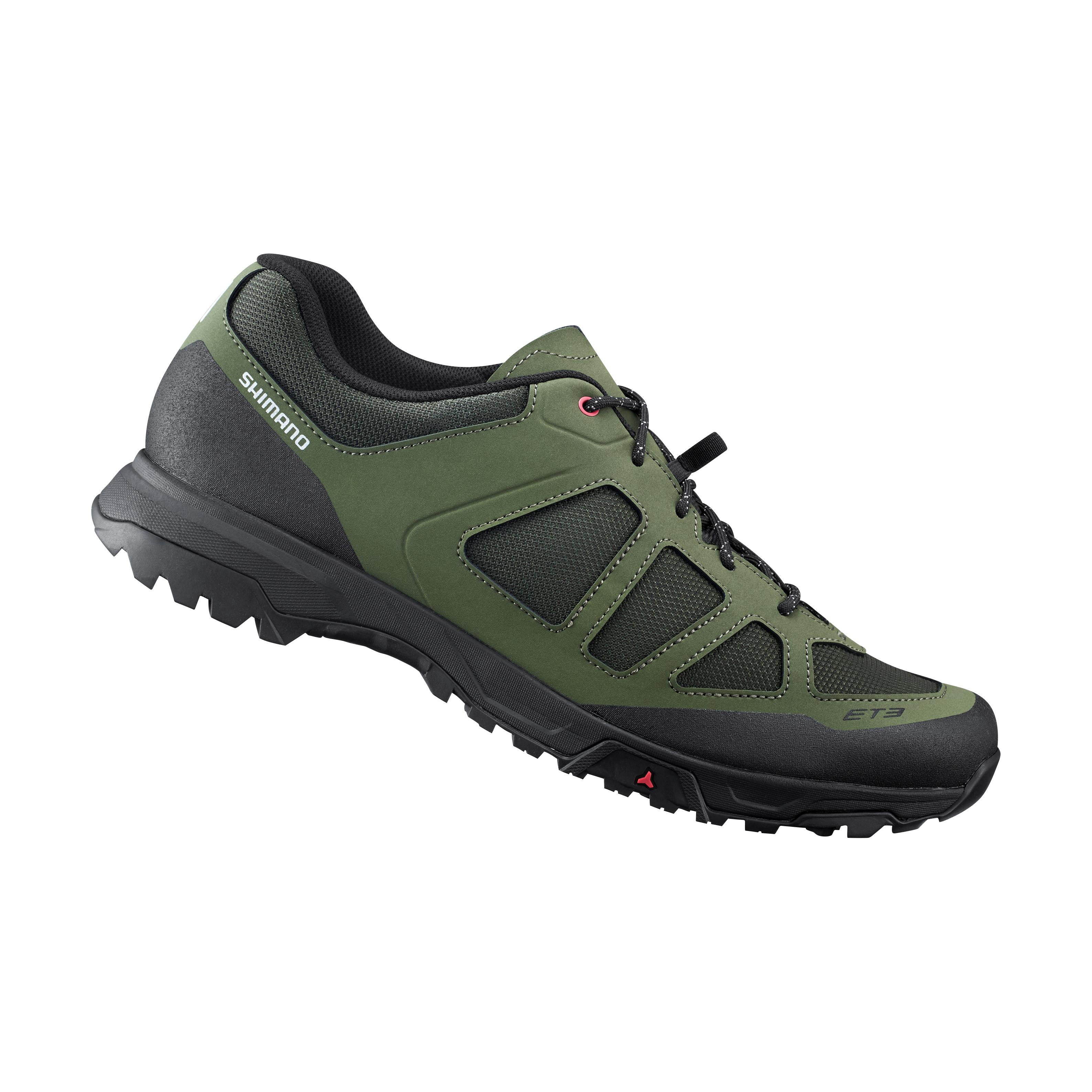 SHIMANO turistická obuv SH-ET300, khaki, 42