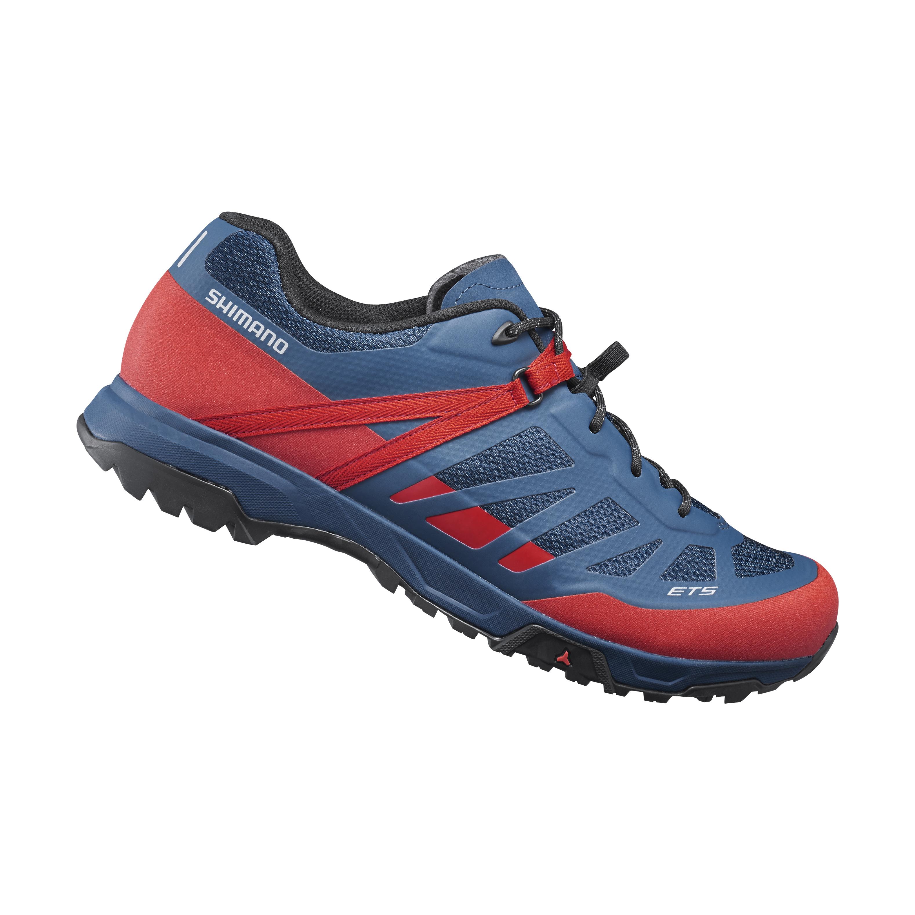 SHIMANO turistická obuv SH-ET500, červená, 42