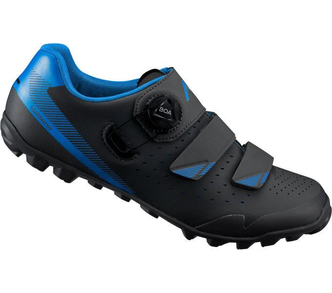 Shimano MTB obuv SH-ME400MB, černá/modrá, 41