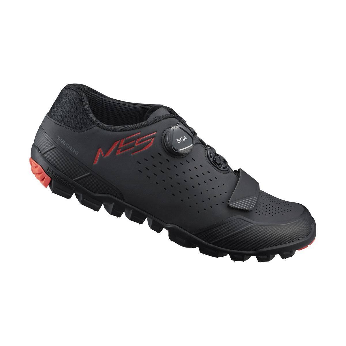 SHIMANO MTB obuv SH-ME501ML43, černá, 43