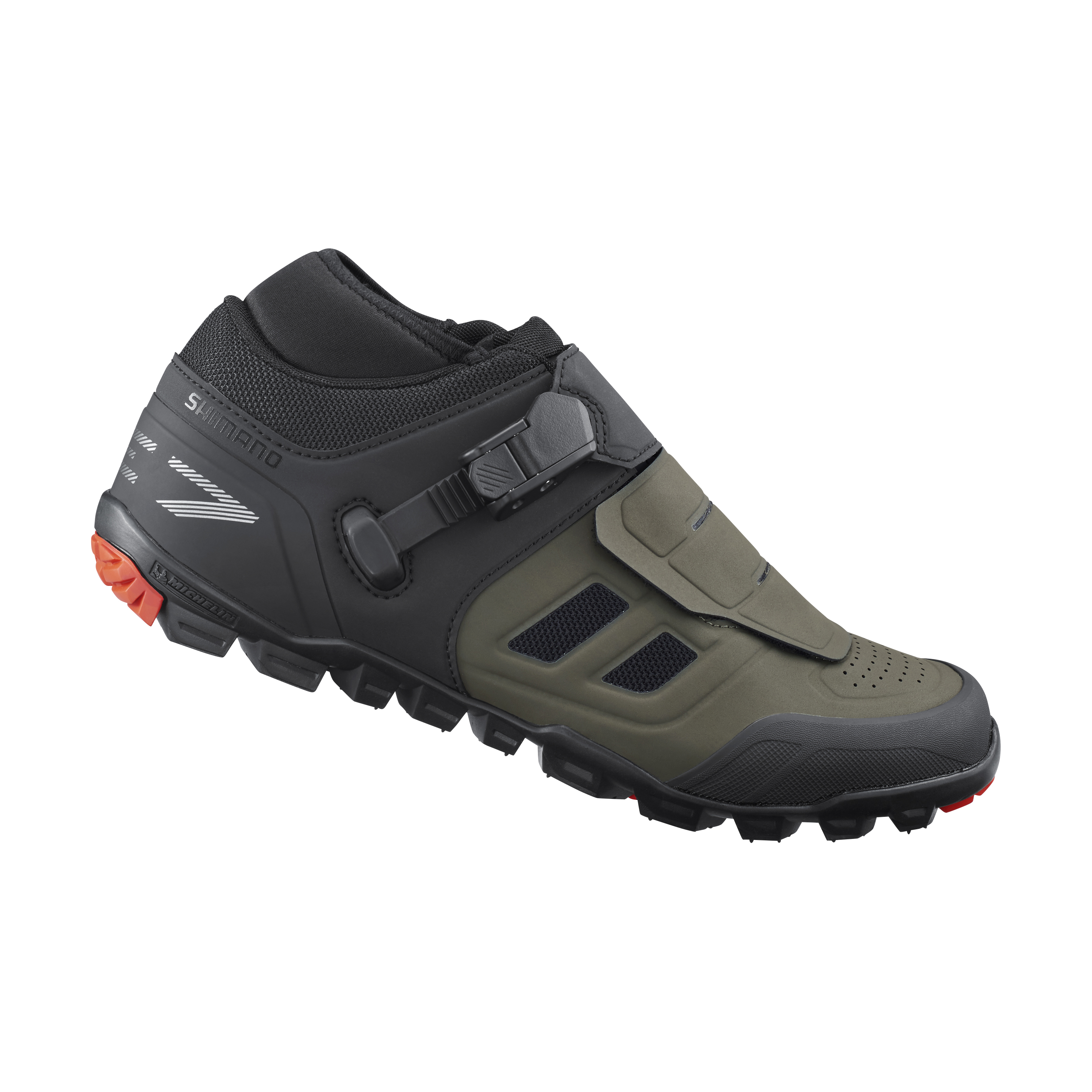 SHIMANO MTB obuv SH-ME702, olivová, 41