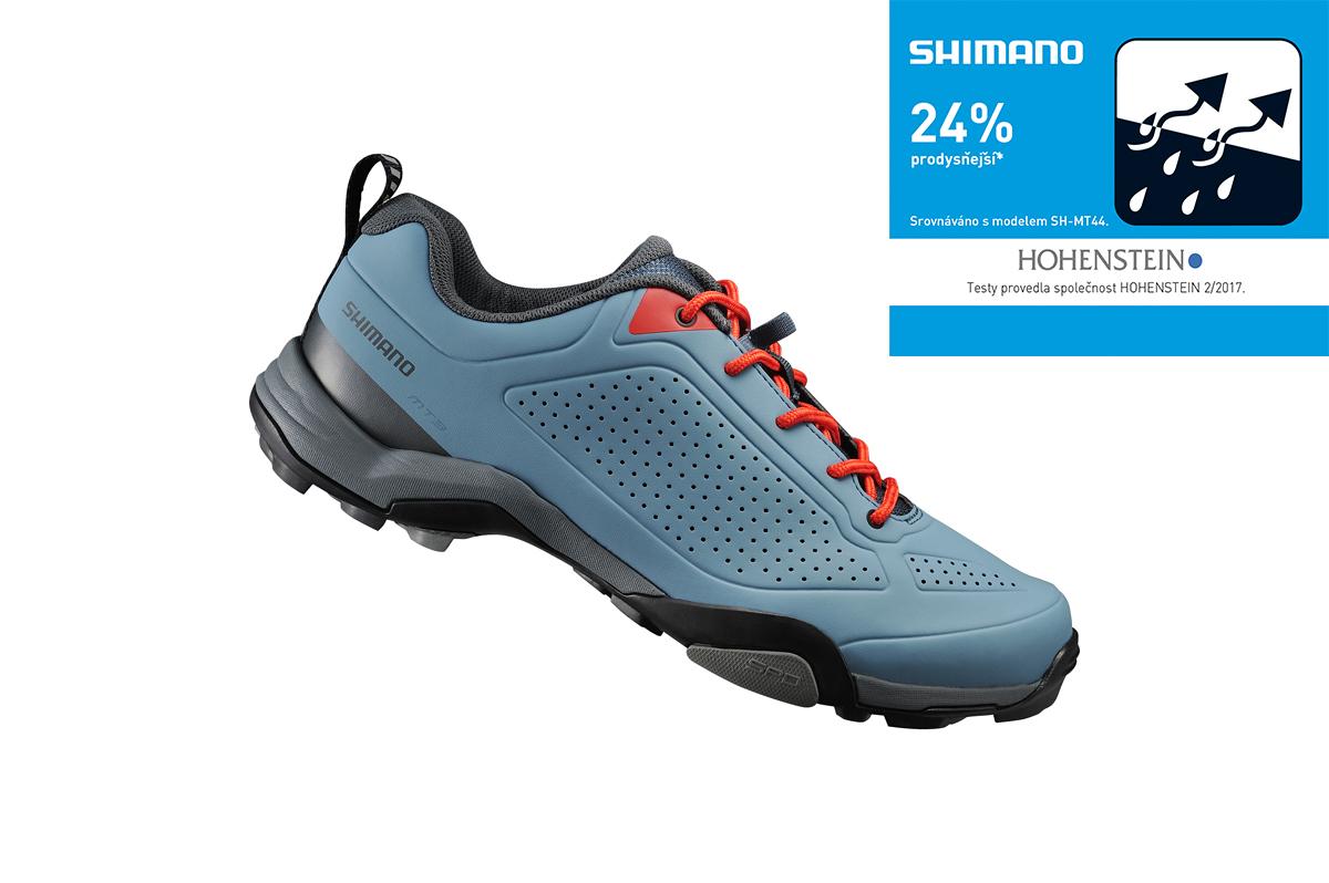 Shimano turistické obuv SH-MT300MB, modrá, 40