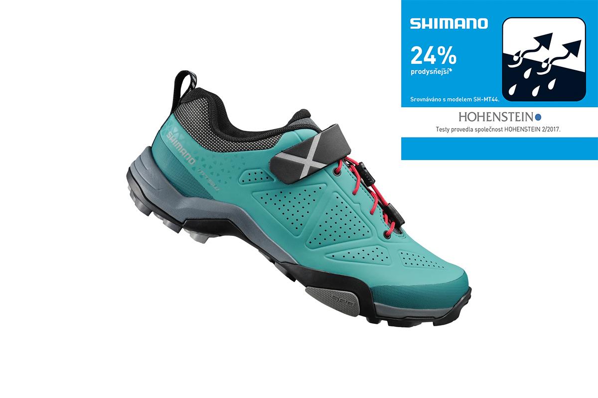 Shimano turistické obuv SH-MT500WG, VIRIDIAN zelená, 36