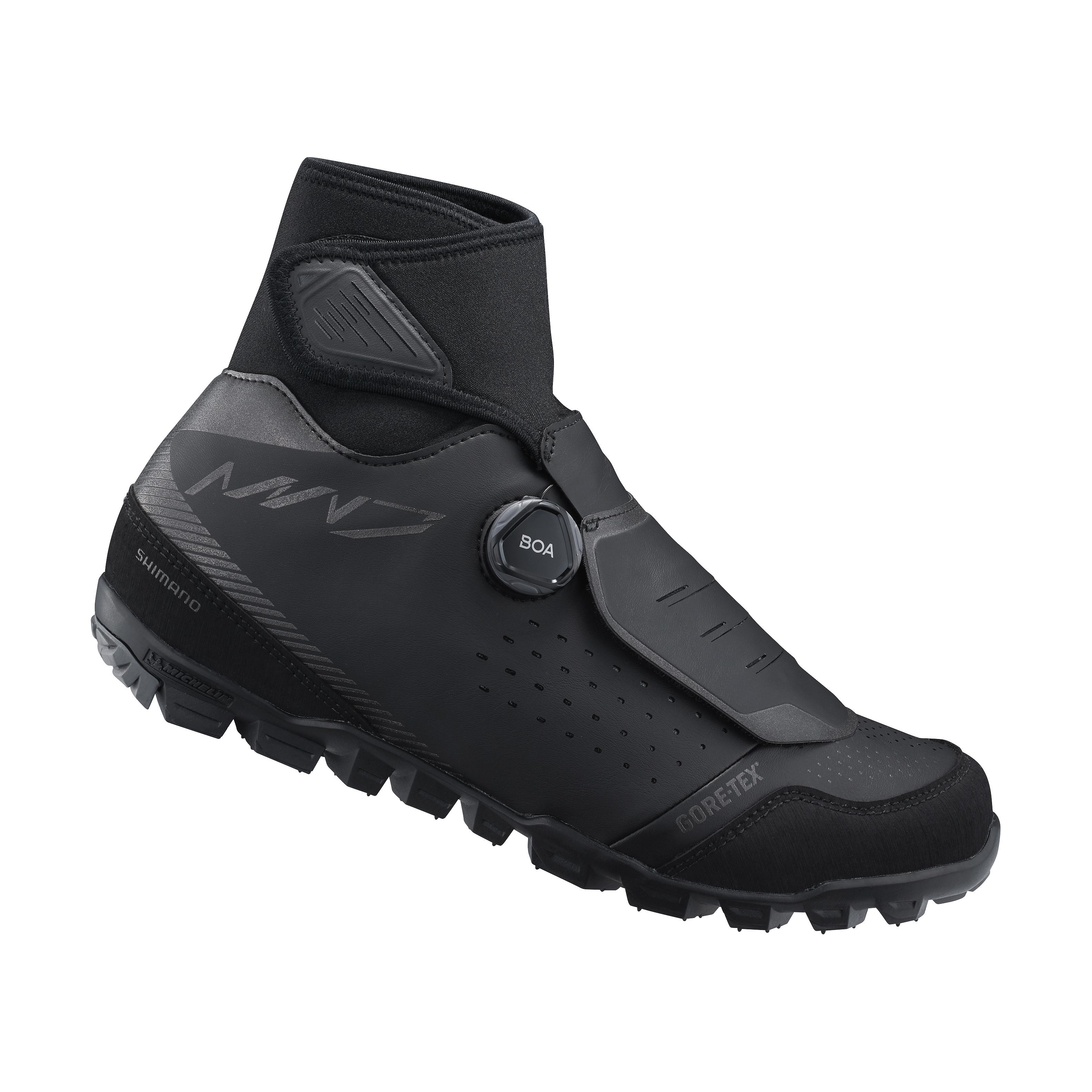SHIMANO MTB zimní obuv SH-MW701ML, černá, 47