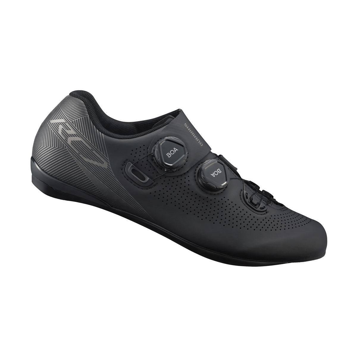 SHIMANO silniční obuv SH-RC701ML, černá, 44