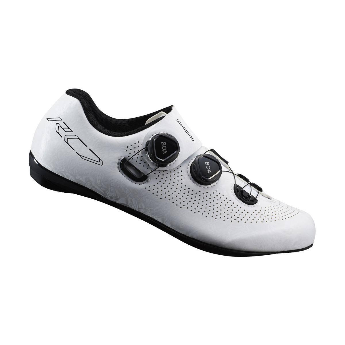 SHIMANO silniční obuv SH-RC701MW, bílá, 43