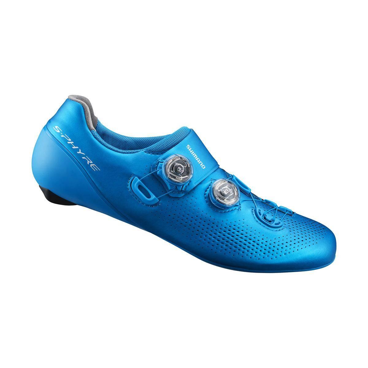 SHIMANO silniční obuv SH-RC901MB, modrá, 46