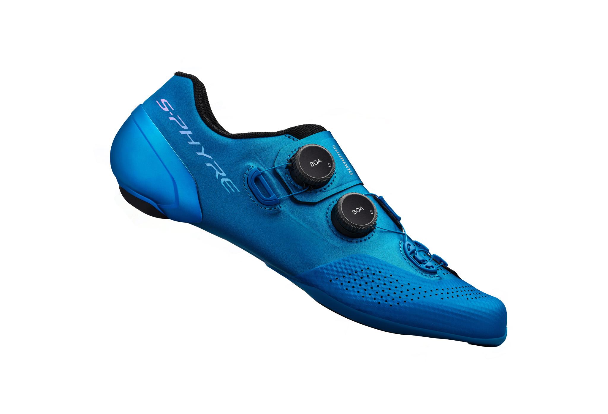 SHIMANO silniční obuv SH-RC902MB, modrá, 43