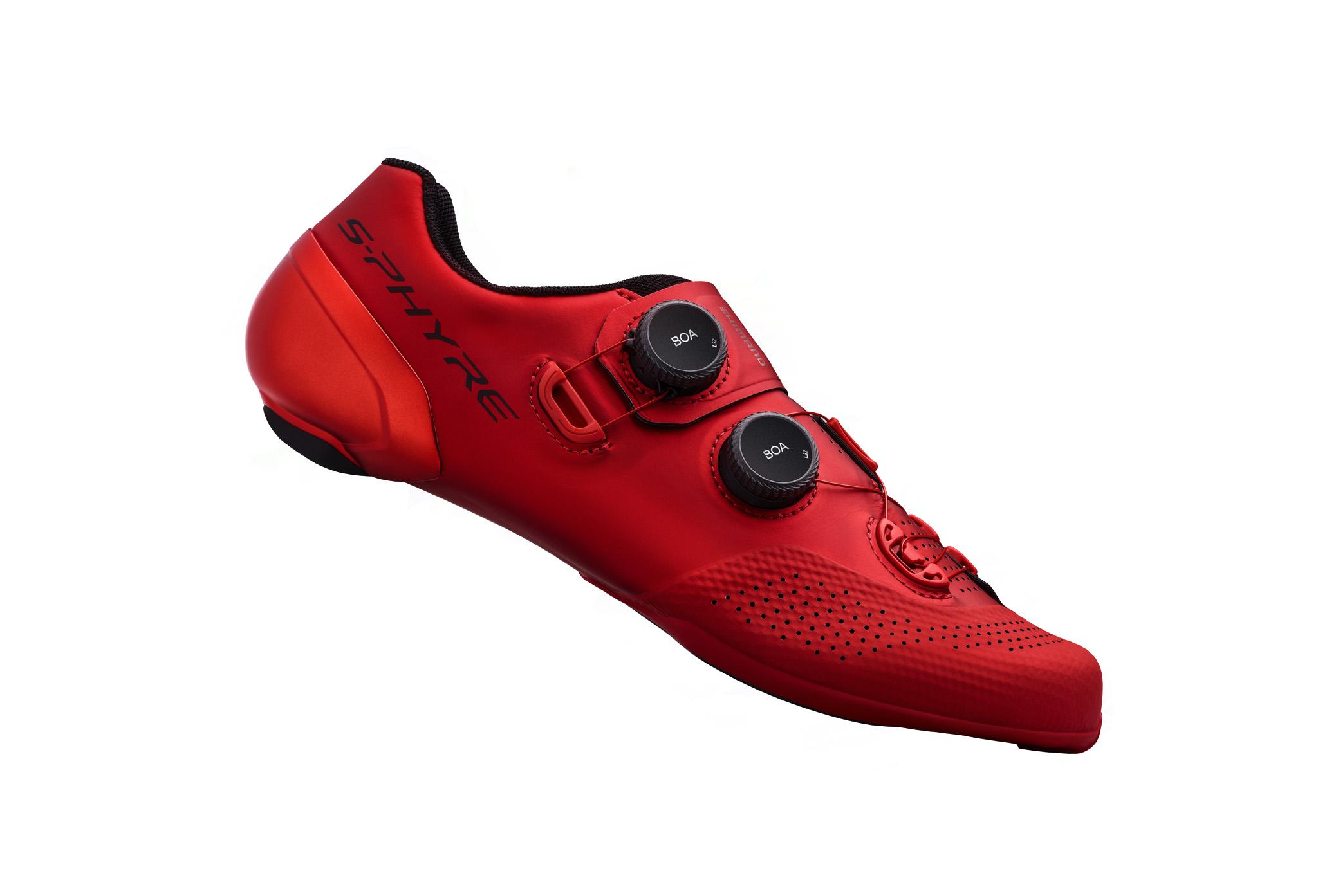 SHIMANO silniční obuv SH-RC902MR, červená, 42