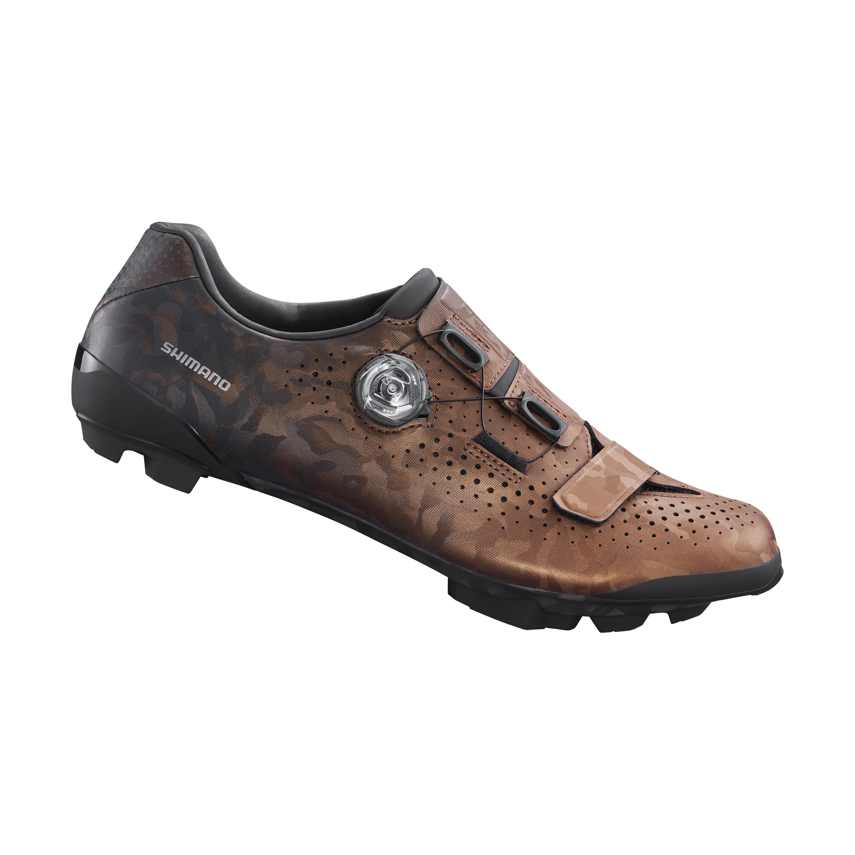 SHIMANO gravel obuv SH-RX800, pánská, bronzová, 42
