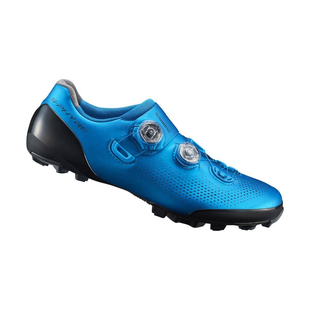 SHIMANO MTB obuv SH-XC901MB, modrá, 42