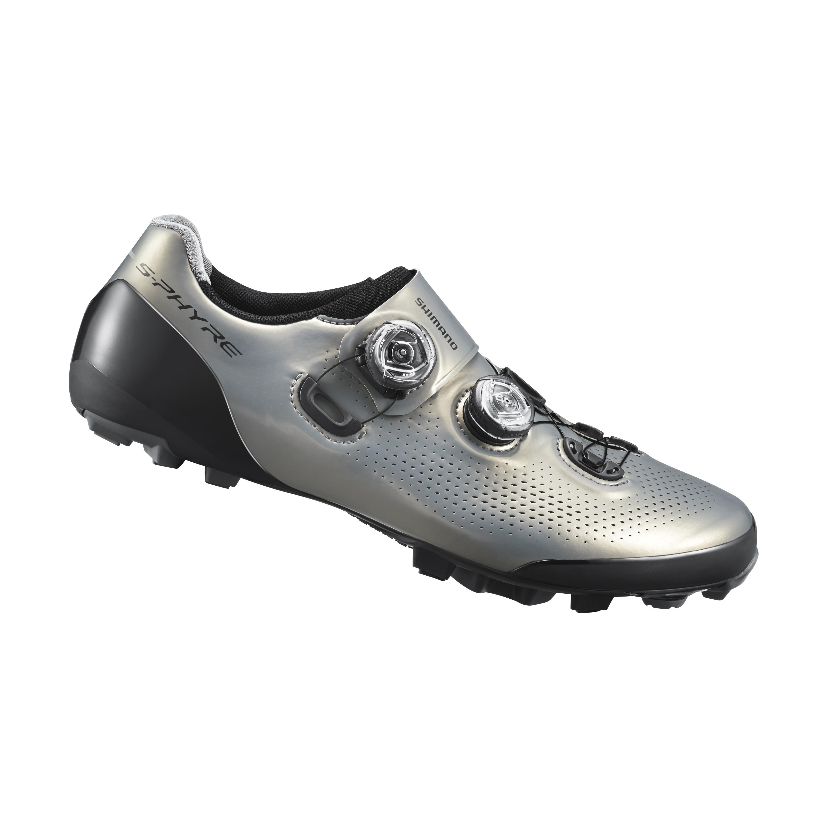 SHIMANO MTB obuv SH-XC901MS, stříbrná, 42