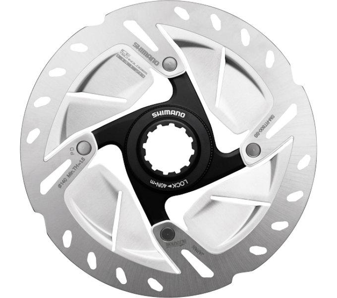 Shimano brzdový kotuč ULTEGRA SM-RT800 center lock 140 mm pro Ice tech + lock ring 0
