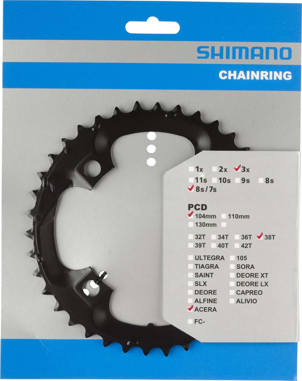 SHIMANO převodník FC-M361 38 z černý