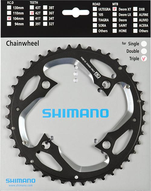 SHIMANO převodník DEORE XT FCM780 42z AE