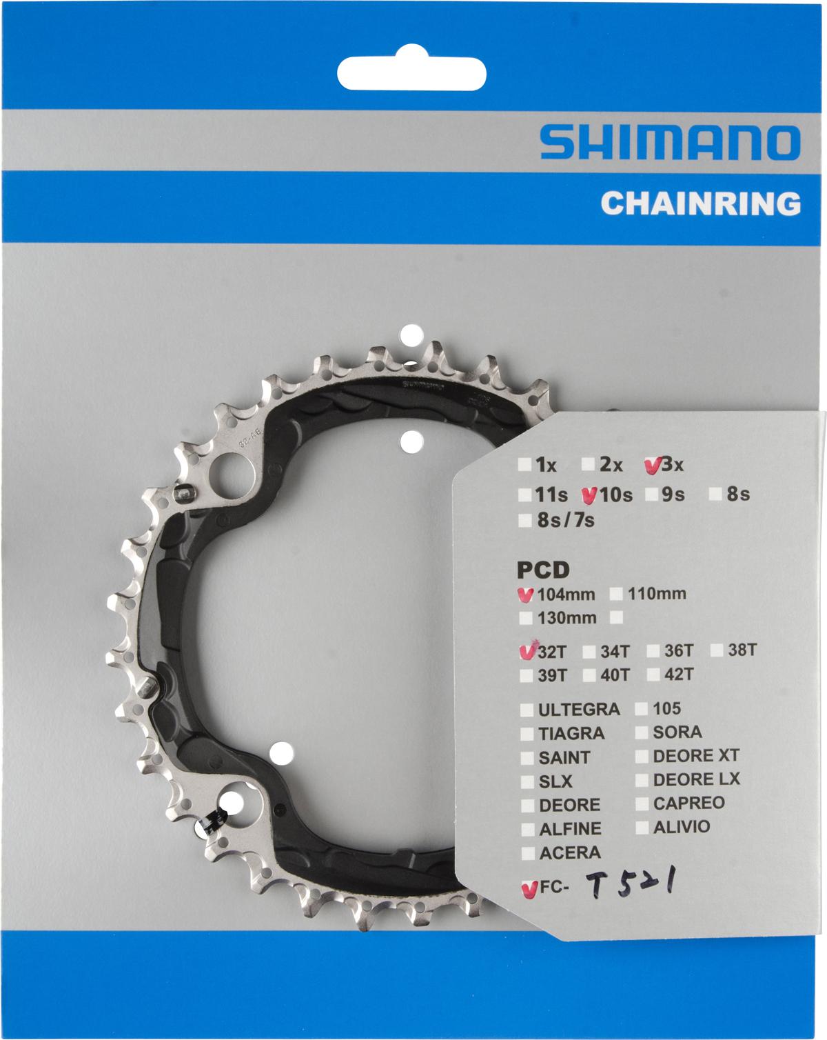 SHIMANO převodník FC-T521 32 z černý