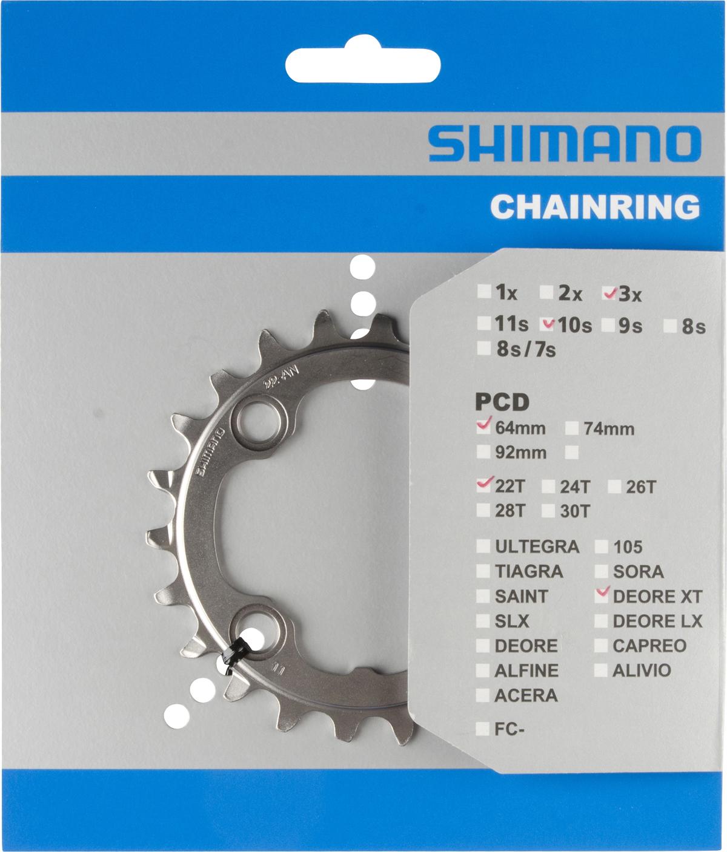 SHIMANO převodník FC-M782 22 zubů AN