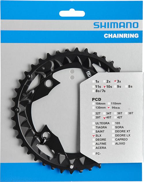 SHIMANO převodník XT FC-M672 40z