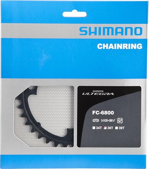 SHIMANO převodník FC-6800 36 zubů pro 46-36 / 52-36