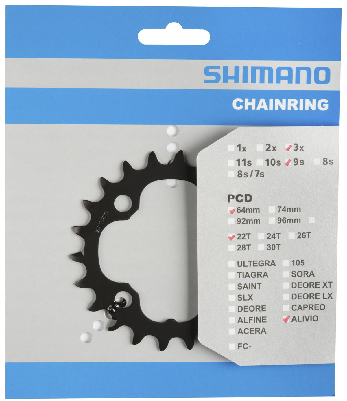 SHIMANO převodník FC-M4050 22z (AX)