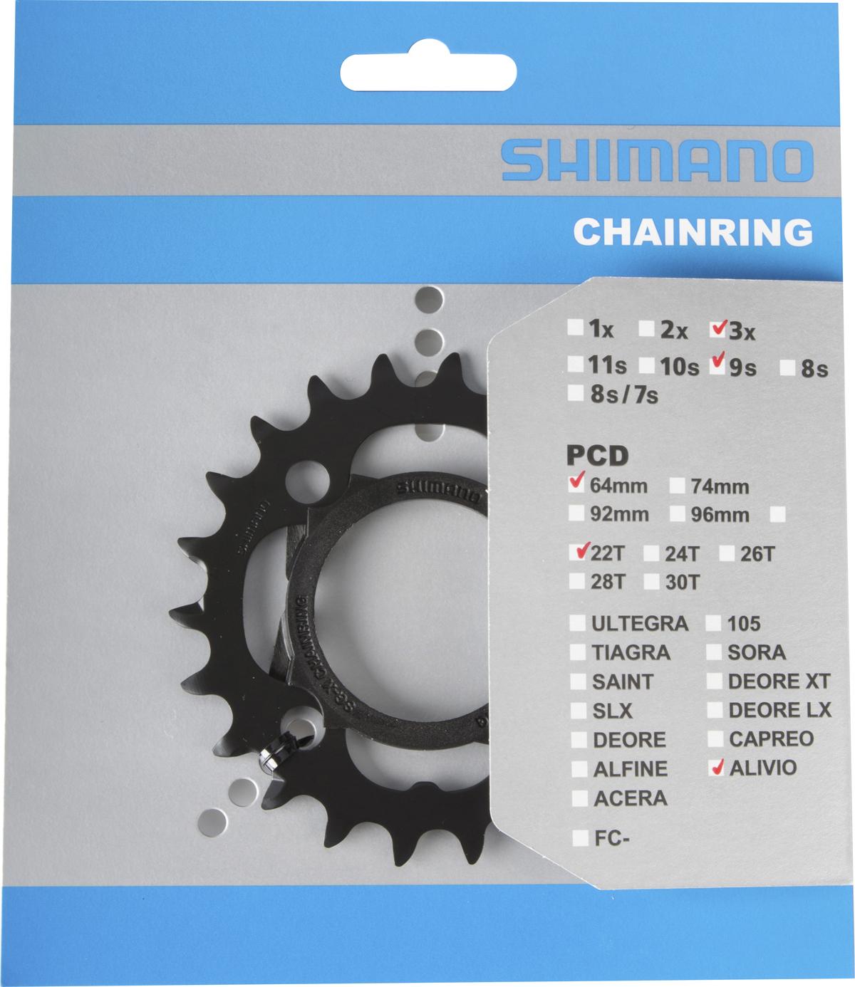 SHIMANO převodník FC-M4000 22 zubů