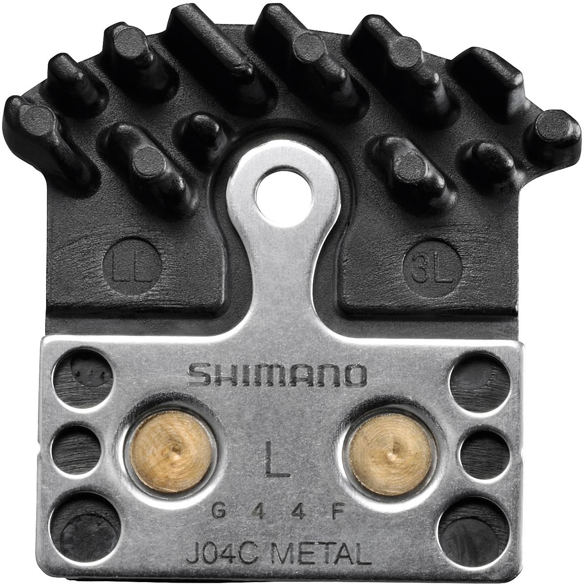 SHIMANO brzd.destičky J04C kovové s chladičem
