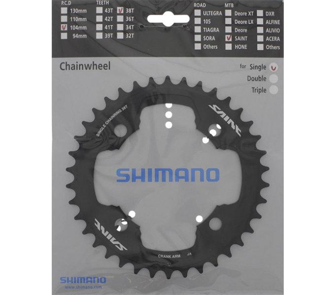 Shimano převodník FCM810-1 38z, černý