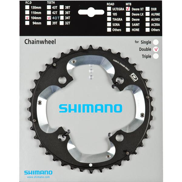 SHIMANO převodník DEORE XT FCM785 40z AJ
