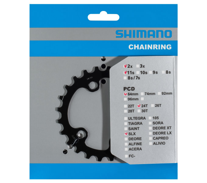 SHIMANO převodník FC-M7000 24 z pro 34-24 pouze pro 2 přev BB typ