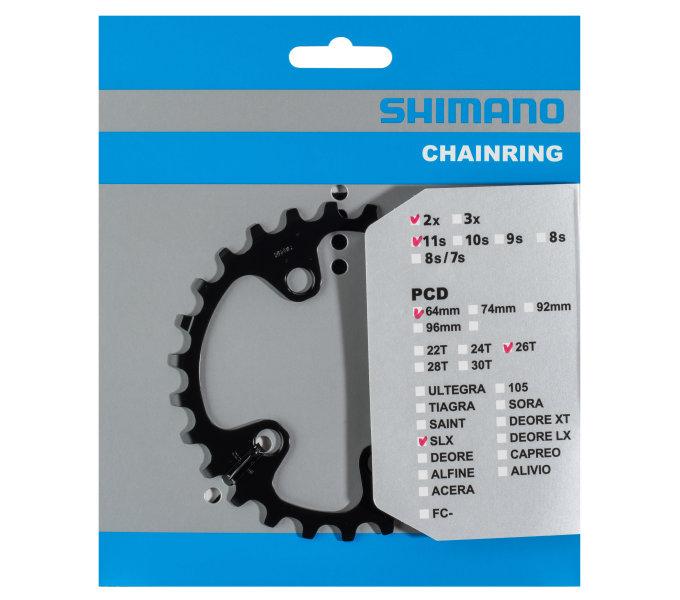 SHIMANO převodník FC-M7000 26 z pro 36-26 pouze pro 2 přev BC typ