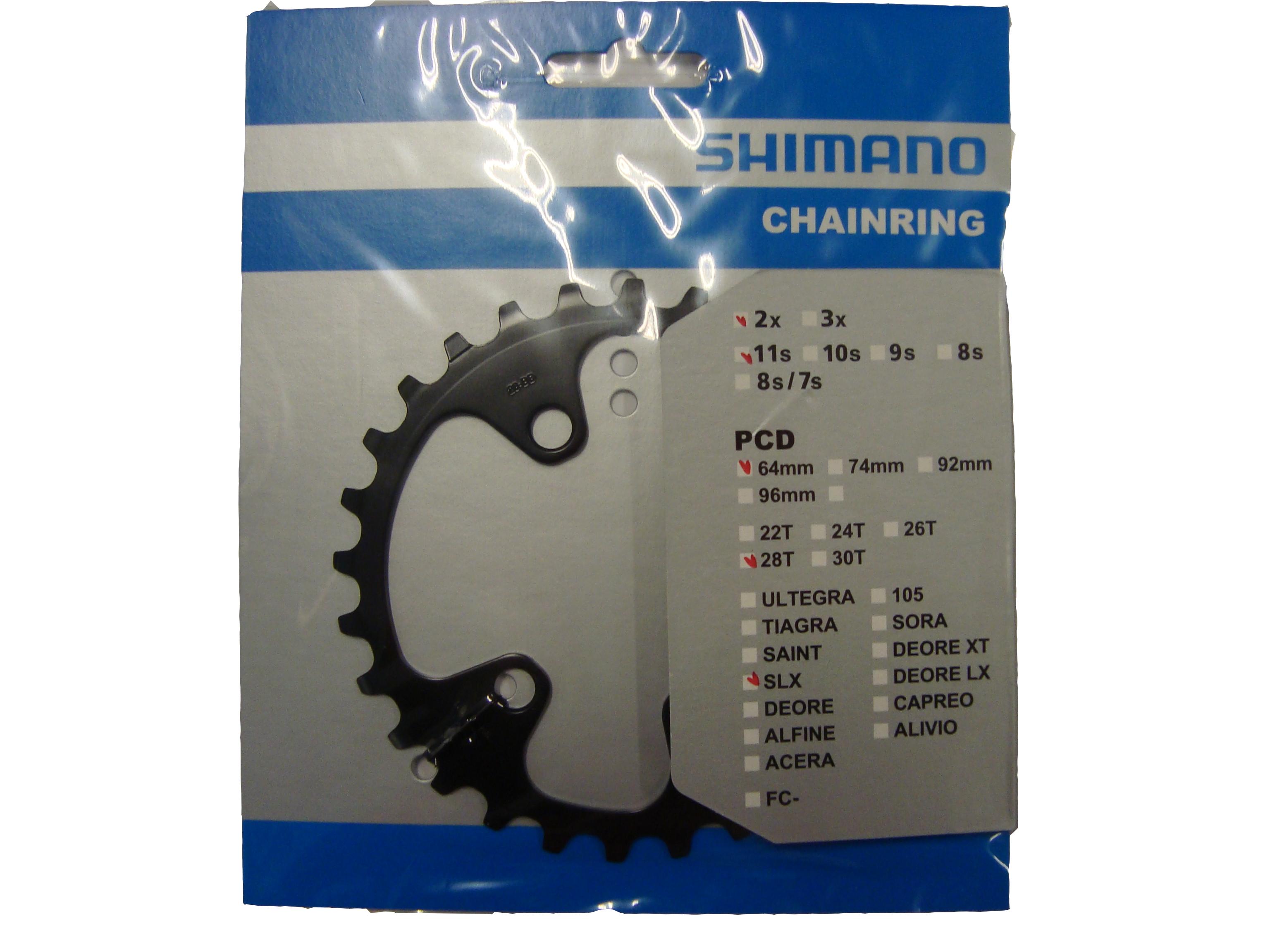 SHIMANO převodník FC-M7000 28 z pro 38-28 pouze pro 2 přev BD typ