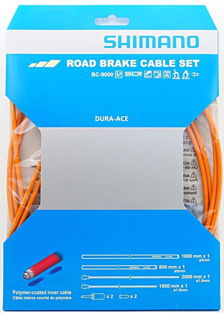 Shimano silniční brzdový set BC-9000, oranžový