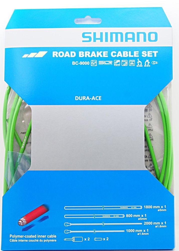 Shimano silniční brzdový set BC-9000, zelený