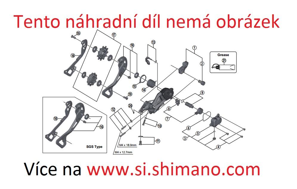 SHIMANO převodník FC-M3000 40 zubů AX sada